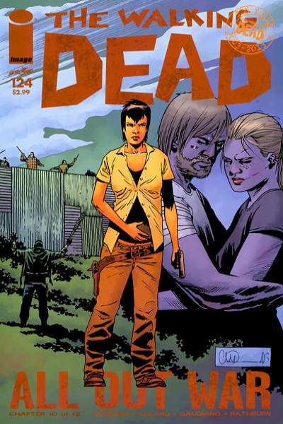 Walking Dead #124 comic books - cover scans photos Walking Dead #124 comic books - covers, picture gallery
