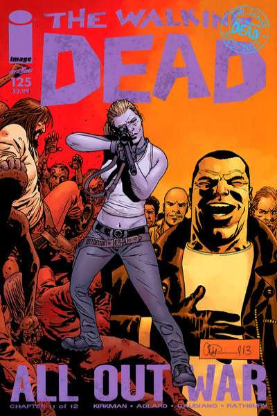 Walking Dead #125 Comic Books - Covers, Scans, Photos  in Walking Dead Comic Books - Covers, Scans, Gallery