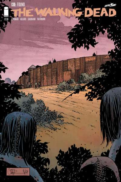 Walking Dead #136 comic books for sale