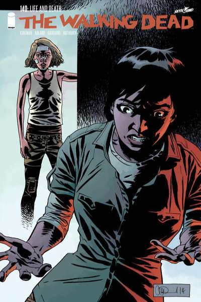 Walking Dead #140 comic books for sale