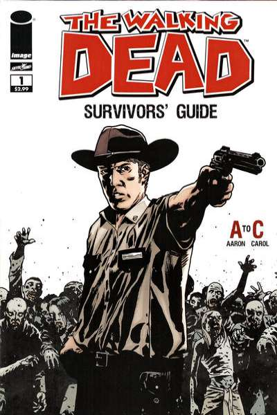 Walking Dead Survivors' Guide comic books