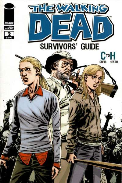 Walking Dead Survivors' Guide #2 Comic Books - Covers, Scans, Photos  in Walking Dead Survivors' Guide Comic Books - Covers, Scans, Gallery