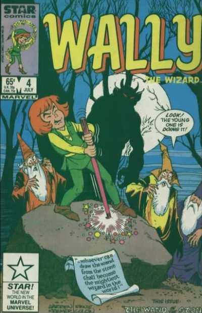Wally the Wizard #4 Comic Books - Covers, Scans, Photos  in Wally the Wizard Comic Books - Covers, Scans, Gallery