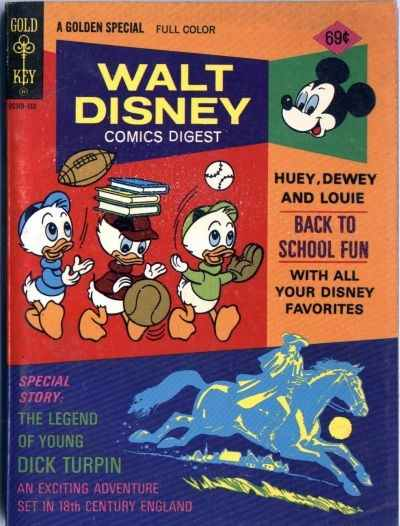Walt Disney Comics Digest #55 Comic Books - Covers, Scans, Photos  in Walt Disney Comics Digest Comic Books - Covers, Scans, Gallery