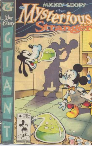 Walt Disney Giant #4 comic books for sale