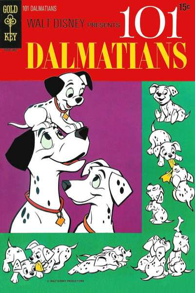 Walt Disney's 101 Dalmations Comic Books. Walt Disney's 101 Dalmations Comics.