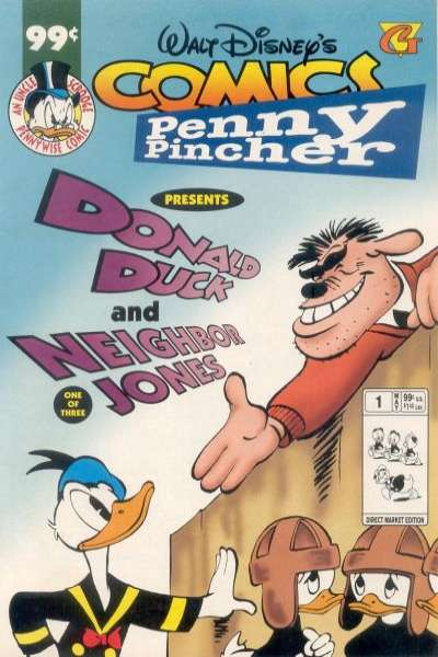 Walt Disney's Comics Penny Pincher comic books