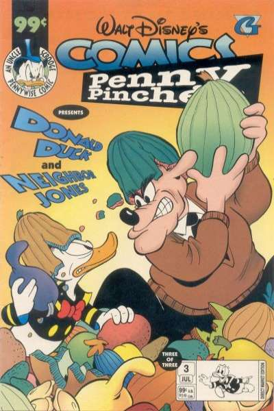 Walt Disney's Comics Penny Pincher #3 comic books for sale