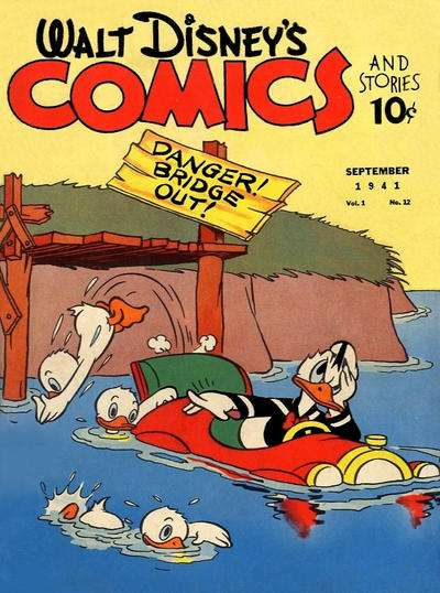 Walt Disney's Comics and Stories #12 Comic Books - Covers, Scans, Photos  in Walt Disney's Comics and Stories Comic Books - Covers, Scans, Gallery