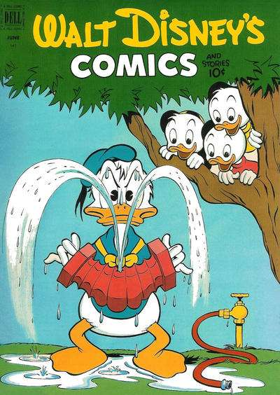 Walt Disney's Comics and Stories #141 comic books - cover scans photos Walt Disney's Comics and Stories #141 comic books - covers, picture gallery