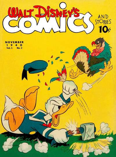 Walt Disney's Comics and Stories #2 Comic Books - Covers, Scans, Photos  in Walt Disney's Comics and Stories Comic Books - Covers, Scans, Gallery