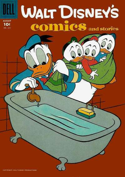 Walt Disney's Comics and Stories #215 comic books - cover scans photos Walt Disney's Comics and Stories #215 comic books - covers, picture gallery