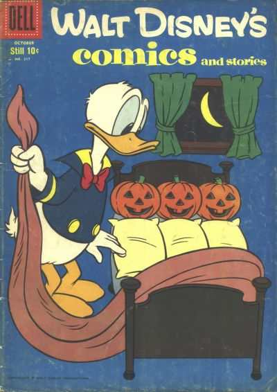 Walt Disney's Comics and Stories #217 comic books - cover scans photos Walt Disney's Comics and Stories #217 comic books - covers, picture gallery