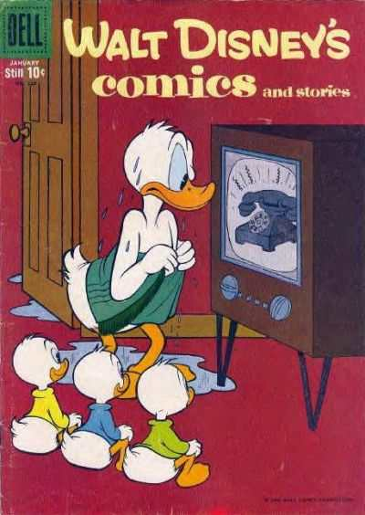 Walt Disney's Comics and Stories #220 comic books - cover scans photos Walt Disney's Comics and Stories #220 comic books - covers, picture gallery