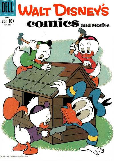 Walt Disney's Comics and Stories #236 comic books for sale