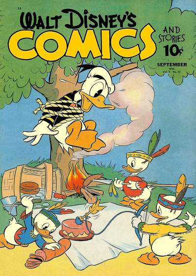 Walt Disney's Comics and Stories #24 Comic Books - Covers, Scans, Photos  in Walt Disney's Comics and Stories Comic Books - Covers, Scans, Gallery