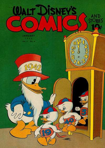 Walt Disney's Comics and Stories #28 comic books for sale