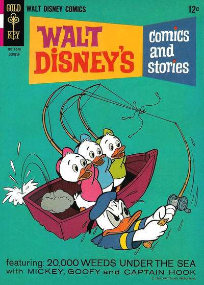 Walt Disney's Comics and Stories #301 comic books - cover scans photos Walt Disney's Comics and Stories #301 comic books - covers, picture gallery