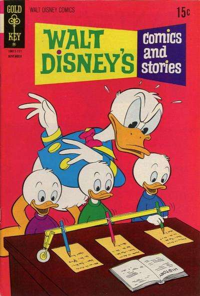 Walt Disney's Comics and Stories #374 comic books - cover scans photos Walt Disney's Comics and Stories #374 comic books - covers, picture gallery