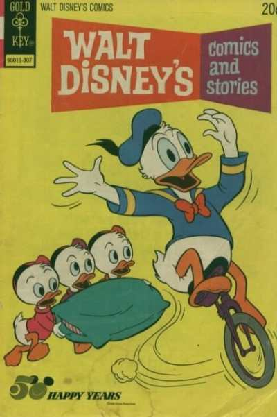 Walt Disney's Comics and Stories #394 comic books - cover scans photos Walt Disney's Comics and Stories #394 comic books - covers, picture gallery
