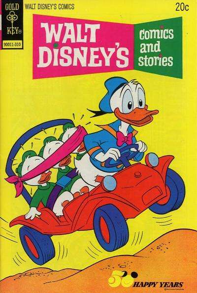 Walt Disney's Comics and Stories #397 comic books - cover scans photos Walt Disney's Comics and Stories #397 comic books - covers, picture gallery
