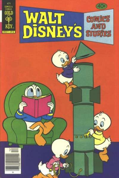 Walt Disney's Comics and Stories #471 Comic Books - Covers, Scans, Photos  in Walt Disney's Comics and Stories Comic Books - Covers, Scans, Gallery