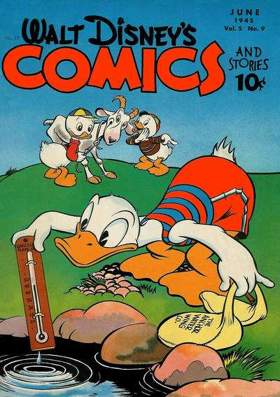Walt Disney's Comics and Stories #57 comic books - cover scans photos Walt Disney's Comics and Stories #57 comic books - covers, picture gallery