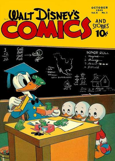 Walt Disney's Comics and Stories #61 Comic Books - Covers, Scans, Photos  in Walt Disney's Comics and Stories Comic Books - Covers, Scans, Gallery