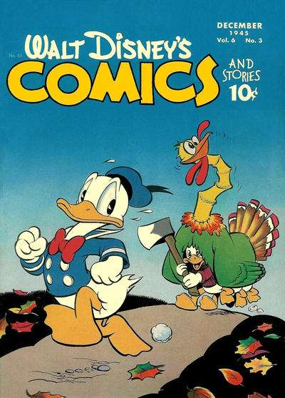 Walt Disney's Comics and Stories #63 comic books - cover scans photos Walt Disney's Comics and Stories #63 comic books - covers, picture gallery