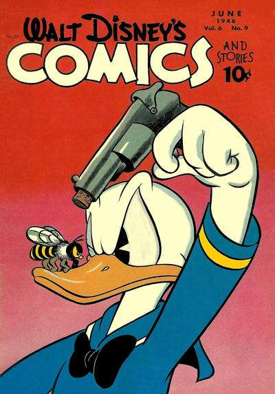 Walt Disney's Comics and Stories #69 comic books - cover scans photos Walt Disney's Comics and Stories #69 comic books - covers, picture gallery