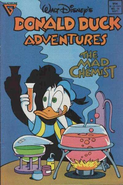 Walt Disney's Donald Duck Adventures #15 comic books - cover scans photos Walt Disney's Donald Duck Adventures #15 comic books - covers, picture gallery