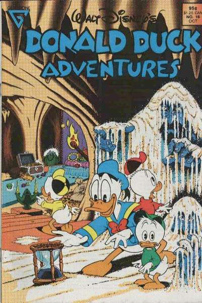 Walt Disney's Donald Duck Adventures #16 comic books - cover scans photos Walt Disney's Donald Duck Adventures #16 comic books - covers, picture gallery