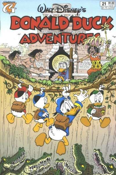 Walt Disney's Donald Duck Adventures #21 comic books - cover scans photos Walt Disney's Donald Duck Adventures #21 comic books - covers, picture gallery