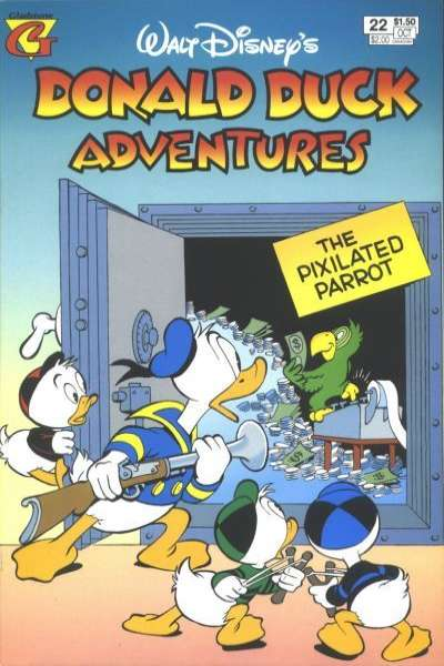 Walt Disney's Donald Duck Adventures #22 Comic Books - Covers, Scans, Photos  in Walt Disney's Donald Duck Adventures Comic Books - Covers, Scans, Gallery