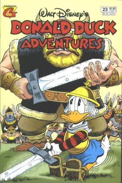 Walt Disney's Donald Duck Adventures #23 Comic Books - Covers, Scans, Photos  in Walt Disney's Donald Duck Adventures Comic Books - Covers, Scans, Gallery