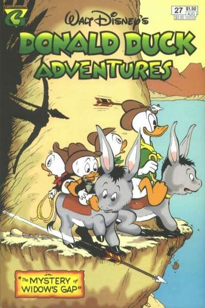 Walt Disney's Donald Duck Adventures #27 comic books - cover scans photos Walt Disney's Donald Duck Adventures #27 comic books - covers, picture gallery