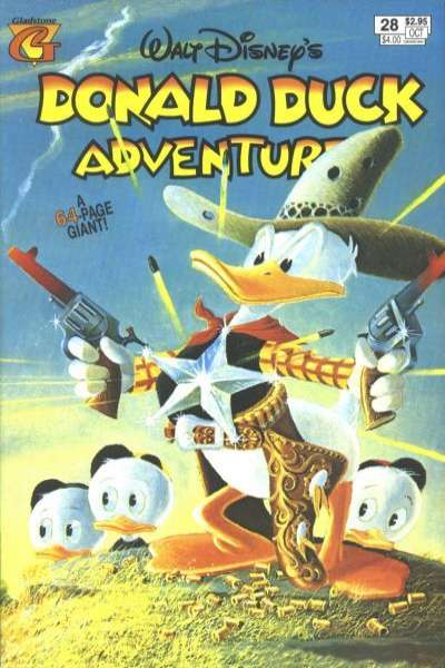 Walt Disney's Donald Duck Adventures #28 comic books - cover scans photos Walt Disney's Donald Duck Adventures #28 comic books - covers, picture gallery