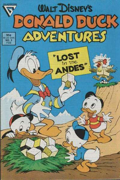 Walt Disney's Donald Duck Adventures #3 comic books - cover scans photos Walt Disney's Donald Duck Adventures #3 comic books - covers, picture gallery