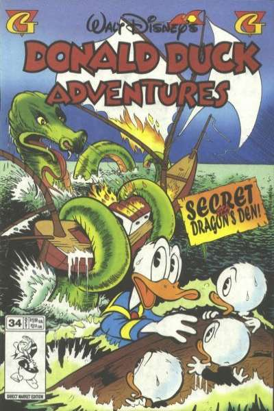 Walt Disney's Donald Duck Adventures #34 comic books - cover scans photos Walt Disney's Donald Duck Adventures #34 comic books - covers, picture gallery
