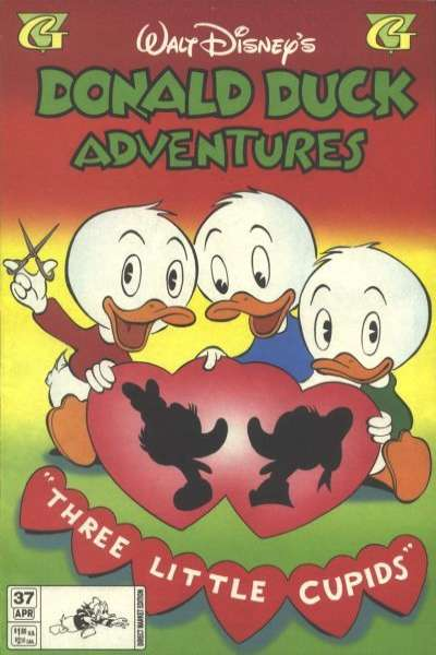 Walt Disney's Donald Duck Adventures #37 comic books - cover scans photos Walt Disney's Donald Duck Adventures #37 comic books - covers, picture gallery