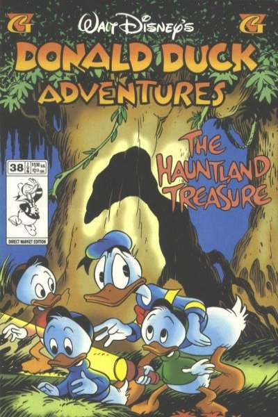 Walt Disney's Donald Duck Adventures #38 comic books - cover scans photos Walt Disney's Donald Duck Adventures #38 comic books - covers, picture gallery