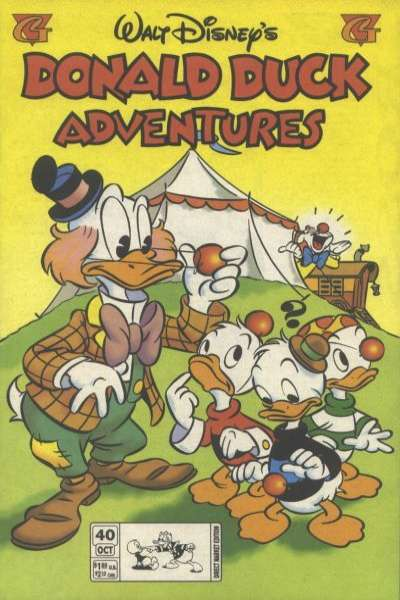 Walt Disney's Donald Duck Adventures #40 comic books - cover scans photos Walt Disney's Donald Duck Adventures #40 comic books - covers, picture gallery