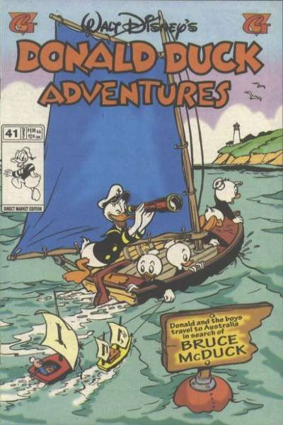 Walt Disney's Donald Duck Adventures #41 comic books - cover scans photos Walt Disney's Donald Duck Adventures #41 comic books - covers, picture gallery