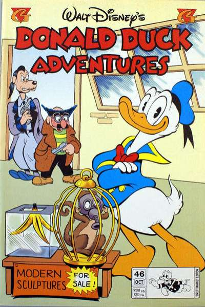 Walt Disney's Donald Duck Adventures #46 comic books - cover scans photos Walt Disney's Donald Duck Adventures #46 comic books - covers, picture gallery