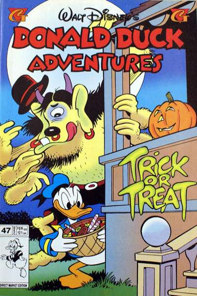 Walt Disney's Donald Duck Adventures #47 comic books - cover scans photos Walt Disney's Donald Duck Adventures #47 comic books - covers, picture gallery