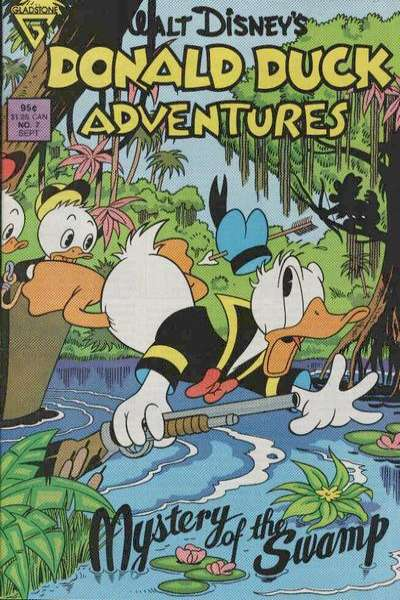 Walt Disney's Donald Duck Adventures #7 comic books - cover scans photos Walt Disney's Donald Duck Adventures #7 comic books - covers, picture gallery