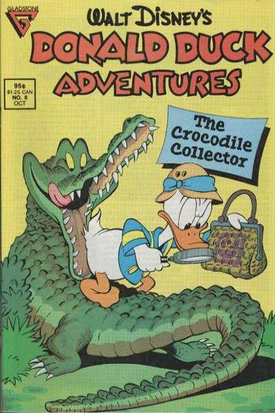 Walt Disney's Donald Duck Adventures #8 comic books - cover scans photos Walt Disney's Donald Duck Adventures #8 comic books - covers, picture gallery