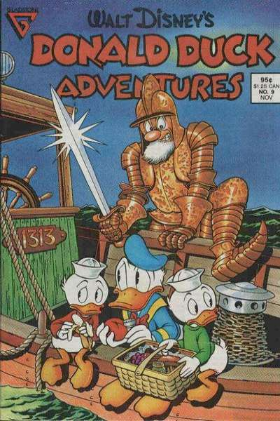 Walt Disney's Donald Duck Adventures #9 comic books - cover scans photos Walt Disney's Donald Duck Adventures #9 comic books - covers, picture gallery