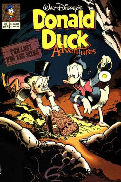 Walt Disney's Donald Duck Adventures #23 comic books - cover scans photos Walt Disney's Donald Duck Adventures #23 comic books - covers, picture gallery