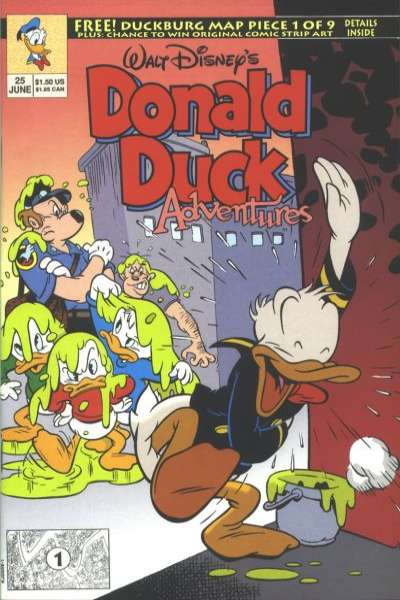 Walt Disney's Donald Duck Adventures #25 comic books - cover scans photos Walt Disney's Donald Duck Adventures #25 comic books - covers, picture gallery